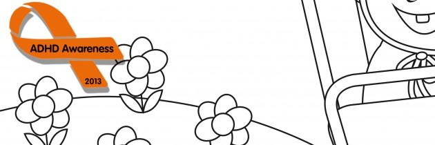 Jippie – en färgläggningsbild